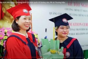 Lễ tốt nghiệp sinh viên khóa I Chương trình Cử nhân quốc tế Quảng cáo, PR và Thương hiệu